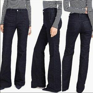 🌺J.Crew High Heel Flare Denim Jeans 28🌺